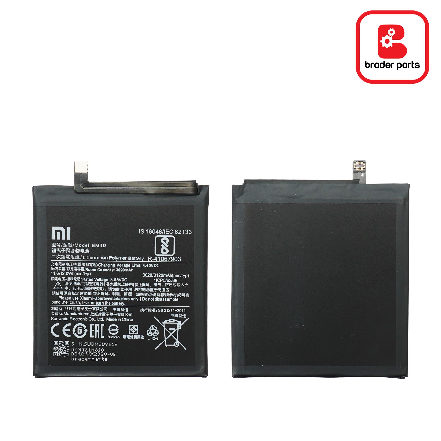 BateraiXiaomi MI 8 SE BM3D