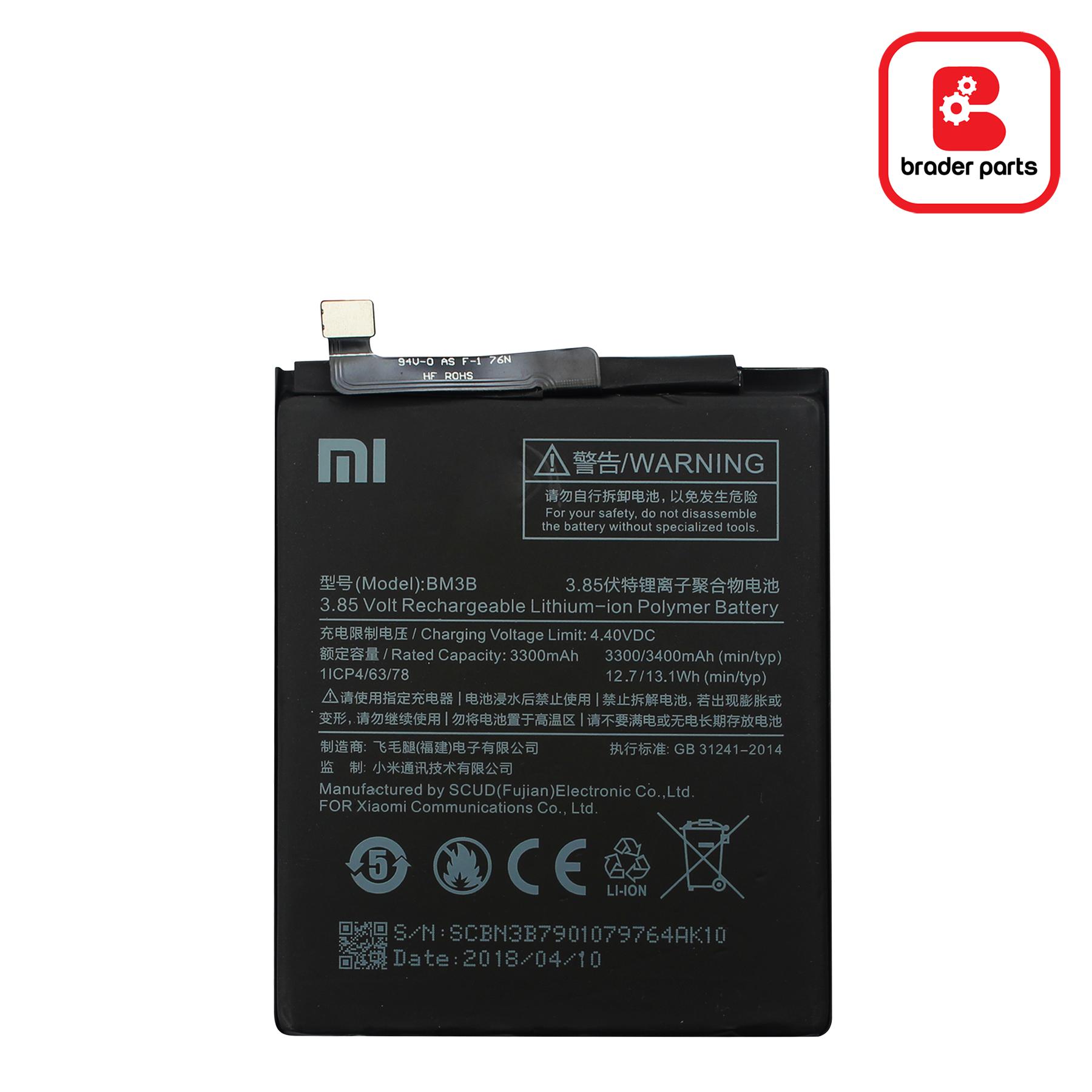 Baterai MI Mix 2 - 2S BM3B