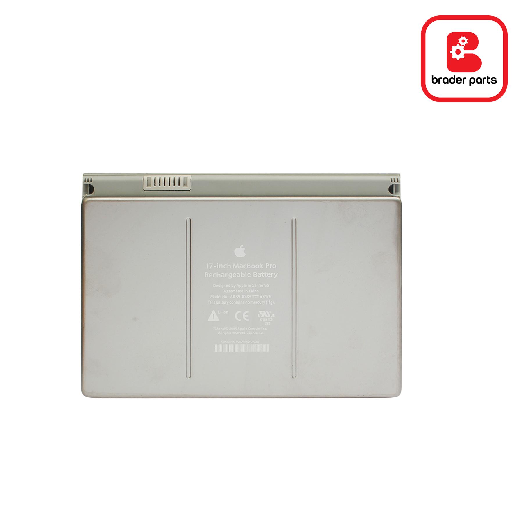 """Baterai Macbook Pro 17"""" A1229 (A1189)"""