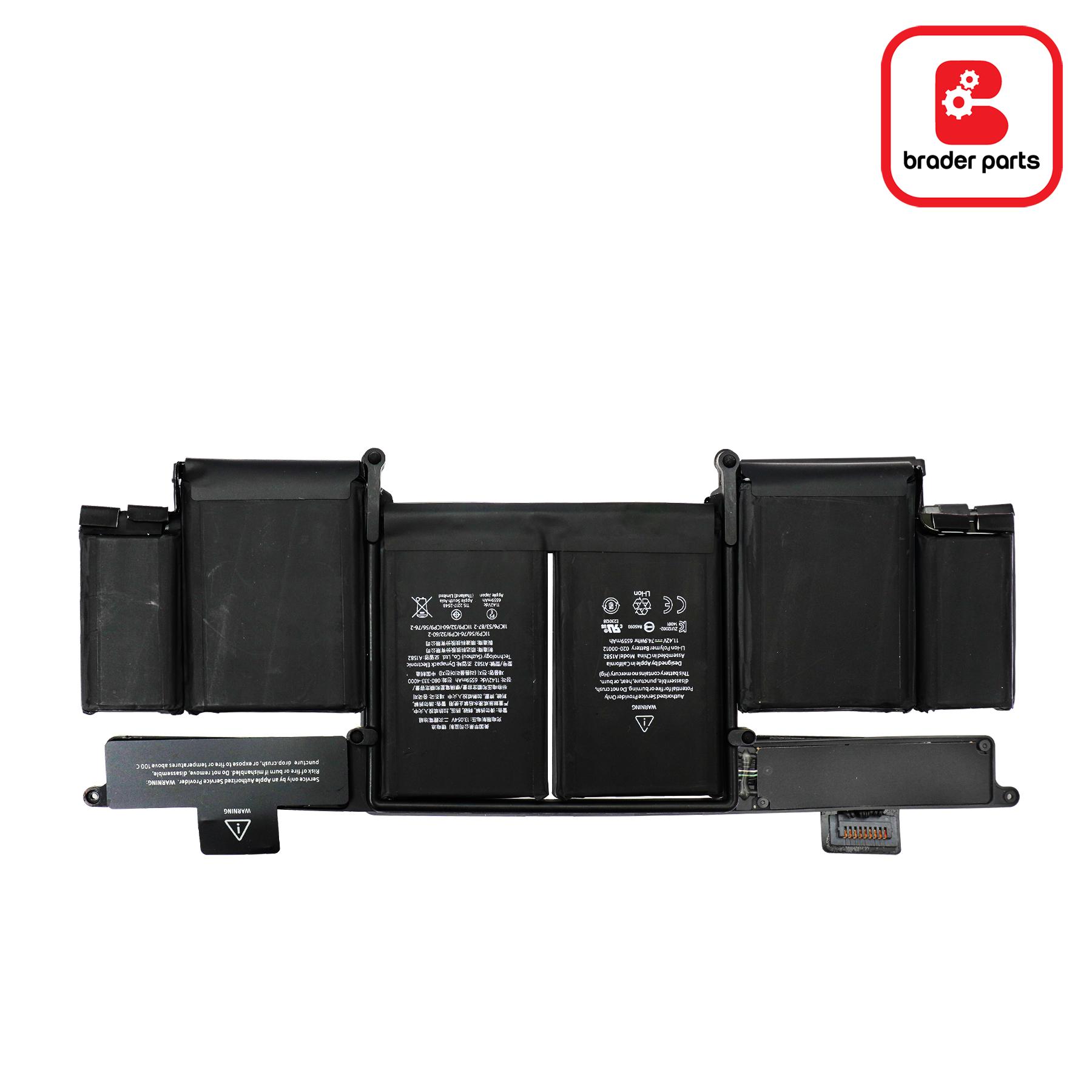 """Baterai Macbook Pro Retina 13"""" A1502 (A1582)"""