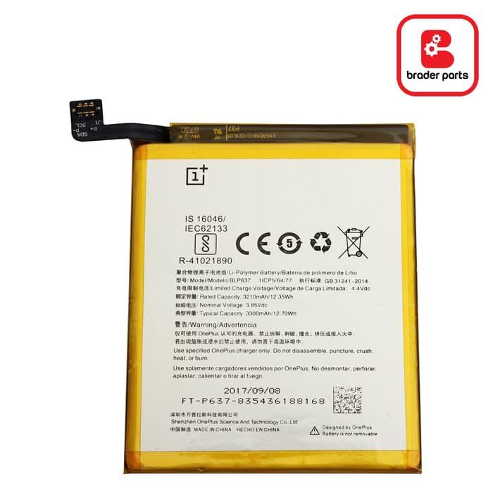 Baterai Oneplus 5