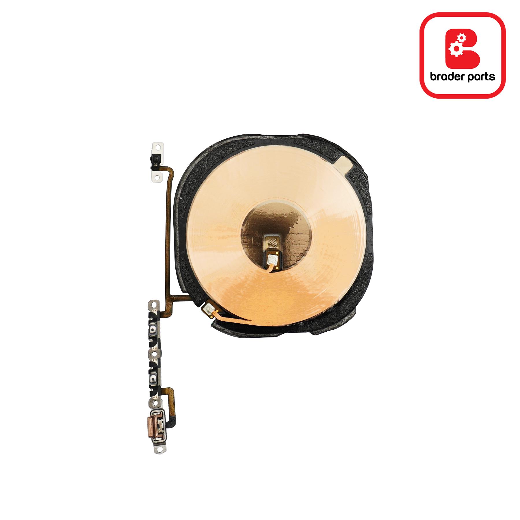 flexible wireless charging + nfc + volume iphone xs