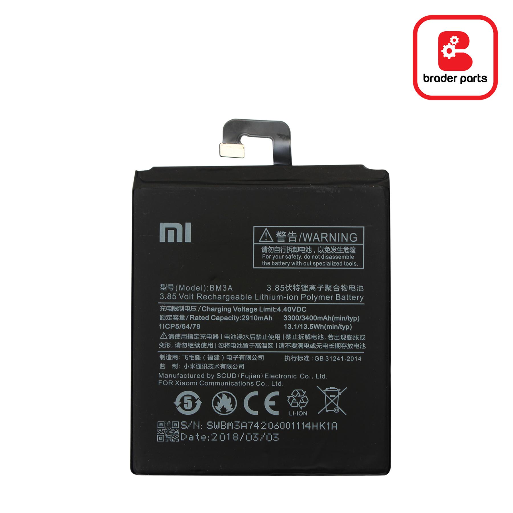 Baterai Xiaomi Mi Note 3 BM3A