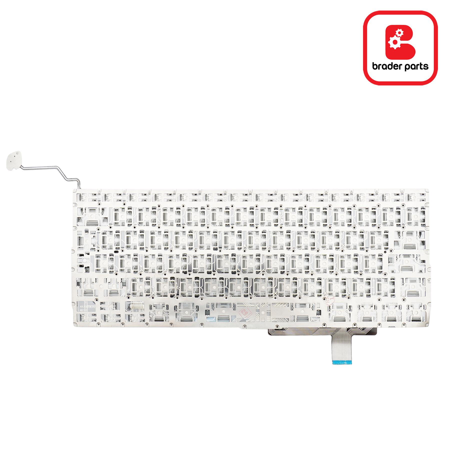 """KeyboardMacBookPro 17"""" Early 2009 - Late 2011 / A1297 UK Version"""