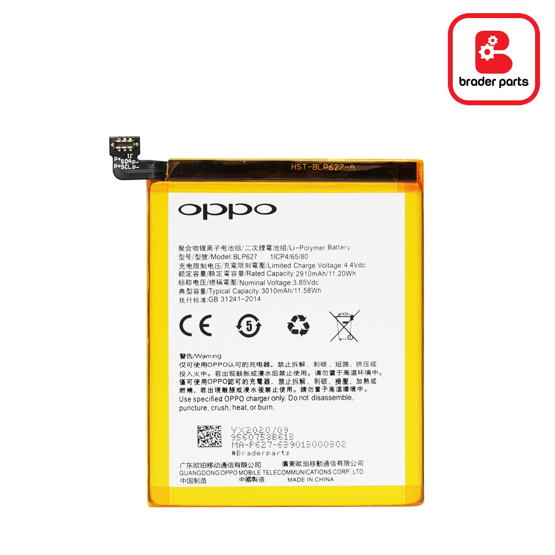 Baterai Oppo R9SK BLP627