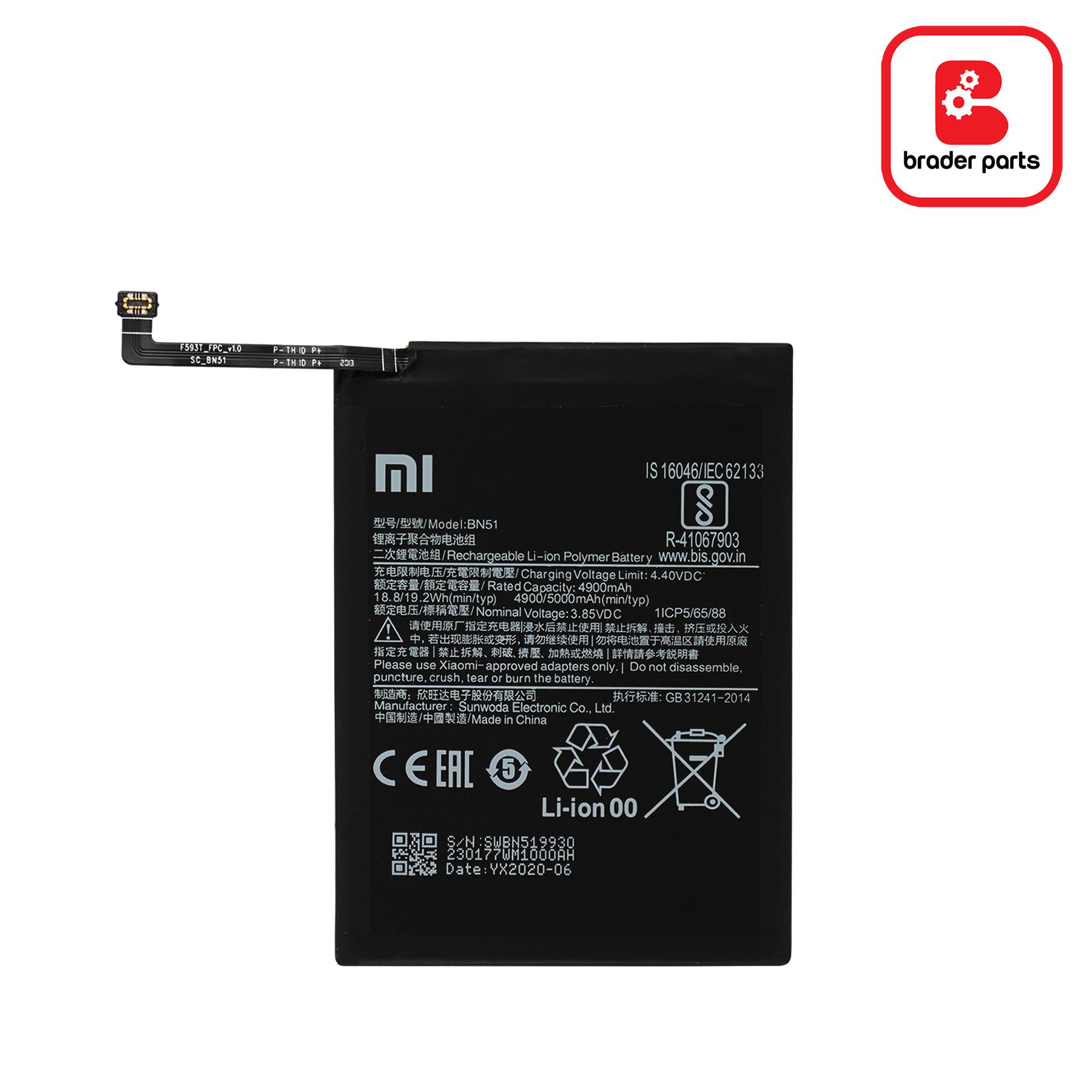 Baterai Redmi 8, 8, 8 DUAL BN51
