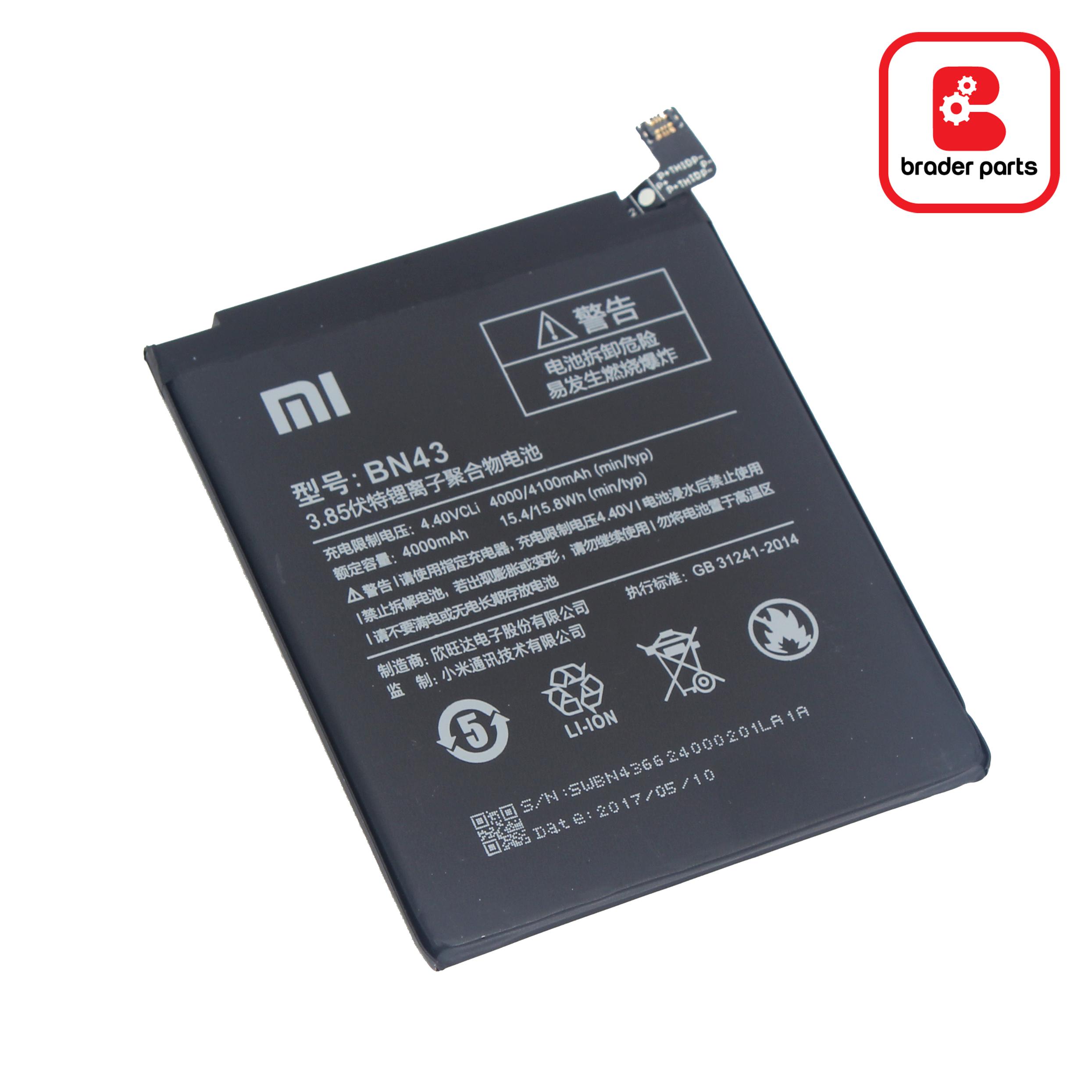 Baterai Redmi Note 4X BN43