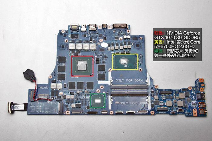 BIOS LA-D752P Alienware 15 R3 Alienware 17 R4