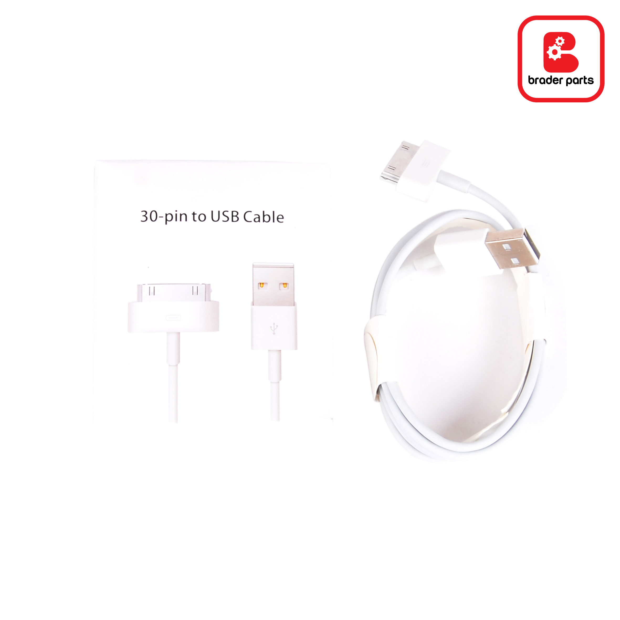 Kabel Charger iPhone 4 Original 100%