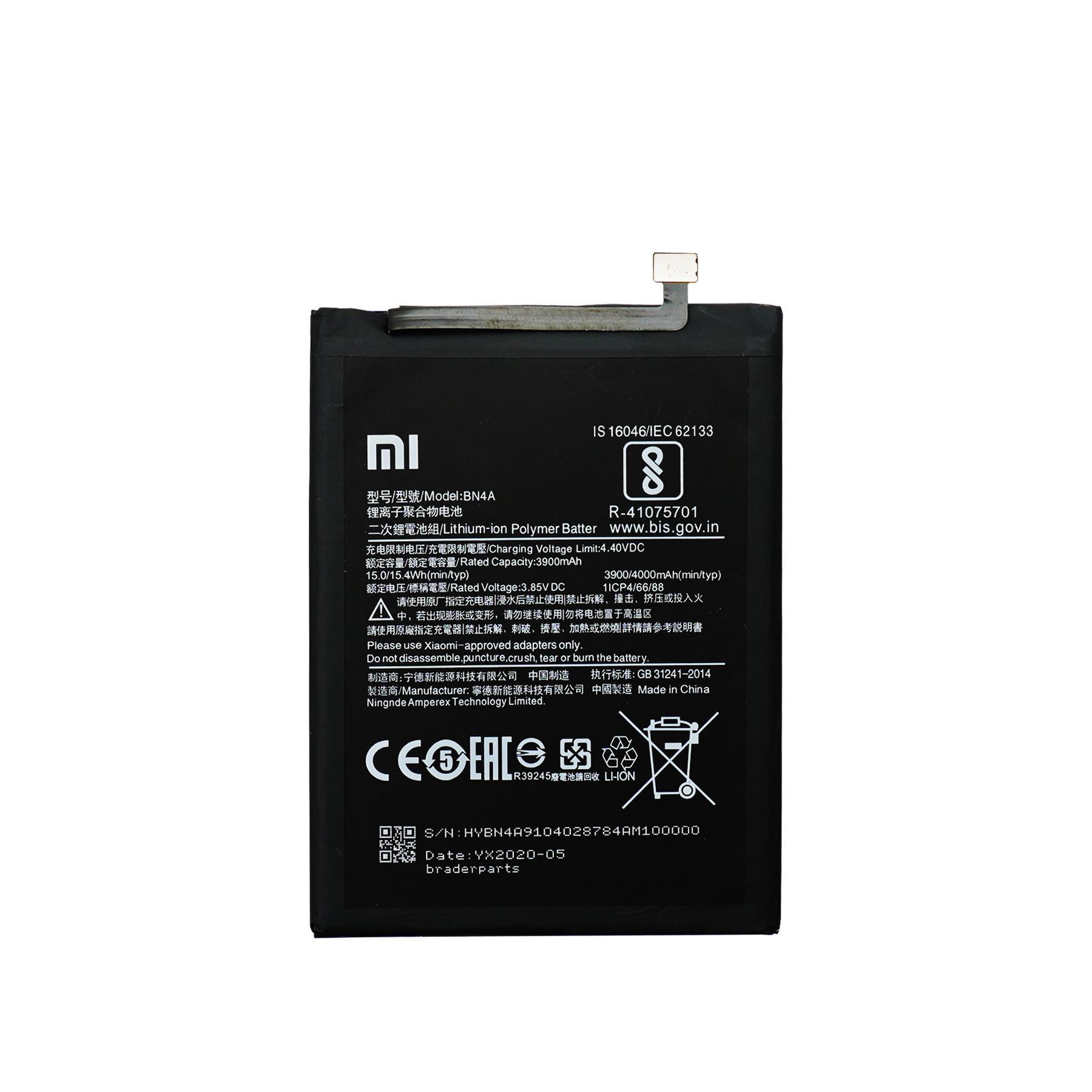 Baterai Redmi Note 7- 7 PRO- 7S- 8 - 8T BN4A