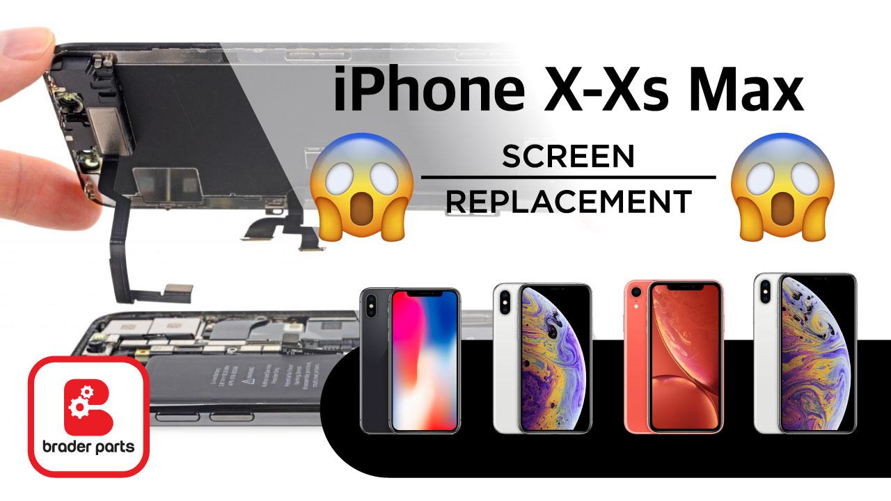 ganti lcd iPhone x